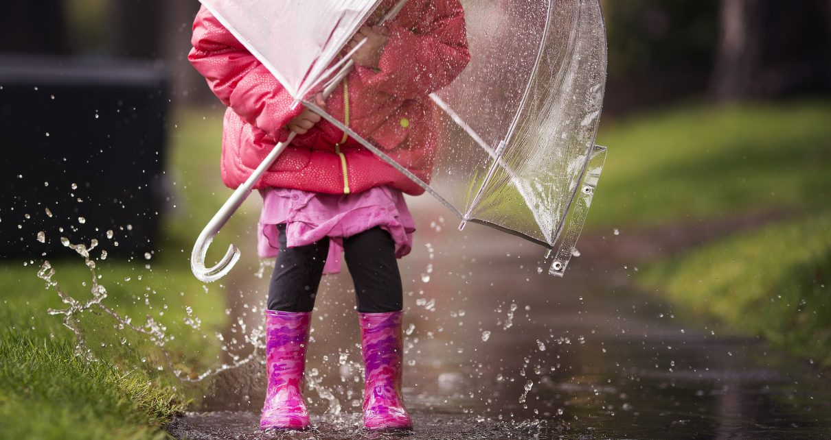 Camping in the Rain with Kids